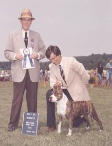 CH.X-PERT SLIGO'S TONY - последняя собака Клиффорда