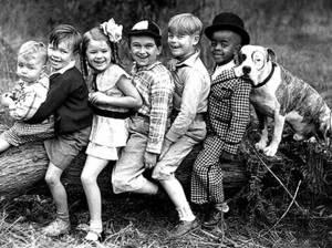 """Звезда американского кино 30-ых годов 20 века Пит и """"Маленькие мошенники"""""""
