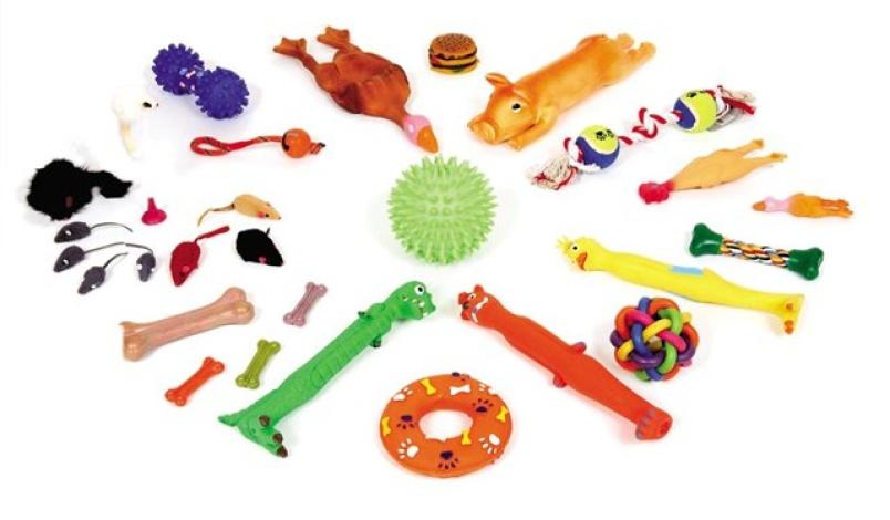 Какие игрушки для щенков